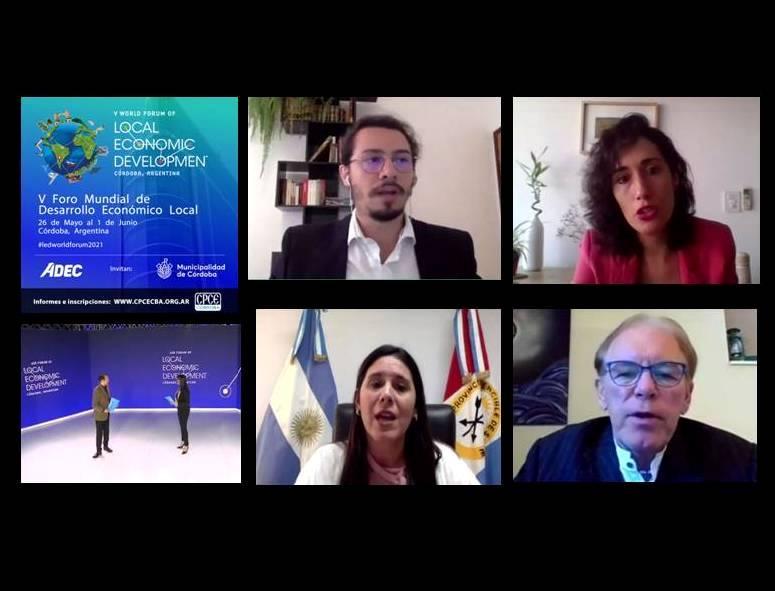 Córdoba: Se realiza el V Foro Mundial de Desarrollo Económico Local