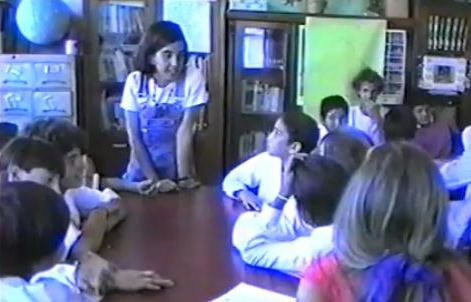 """Proyecto de educación ambiental """"Crecer desde Adentro"""", Gorina, La Plata, Grupo Bosque Esmeralda UNLP (1993/97)"""
