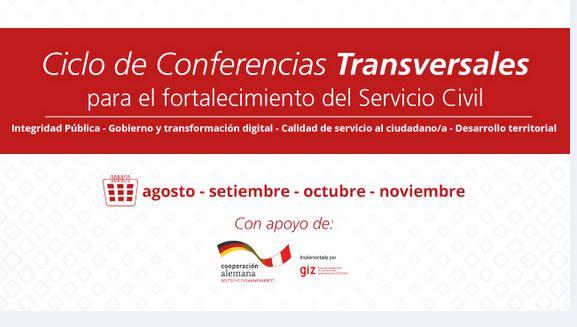"""Conferencia: """"Integridad pública: conceptos y actores"""" - Perú"""
