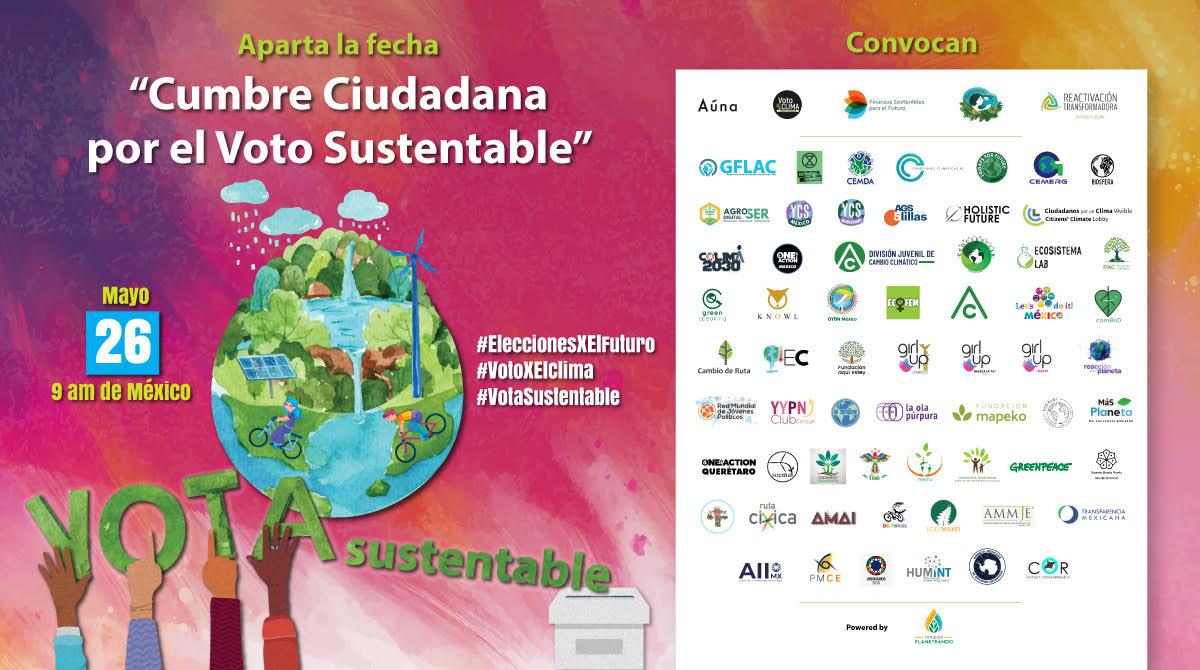 """""""Cumbre Ciudadana por el Voto Sustentable"""", México"""