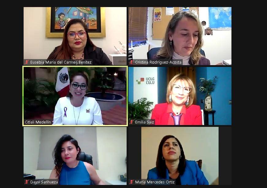 Participamos del encuentro de lanzamiento de la Red Latinoamericana de Mujeres Municipalistas