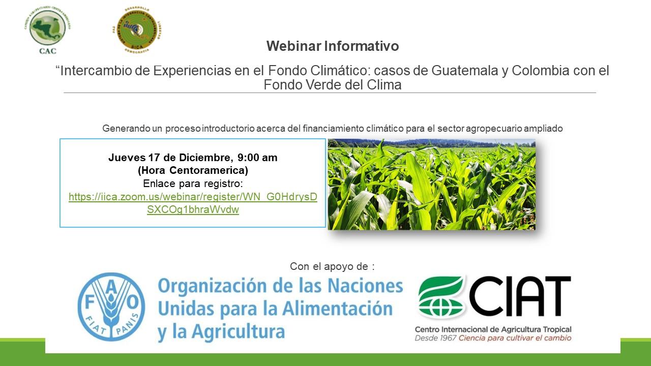 """""""Intercambio de experiencias en fondos climáticos: casos de Colombia y Guatemala con el Fondo Verde del Clima"""""""