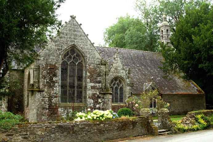 la chapelle Notre Dame du Crann à Spézet
