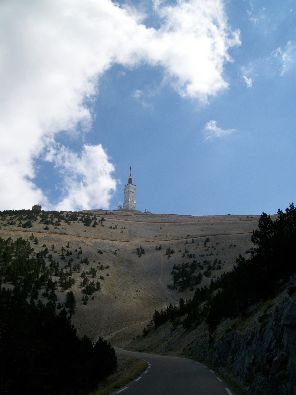 Jeudi : ascension du Mont-Ventoux