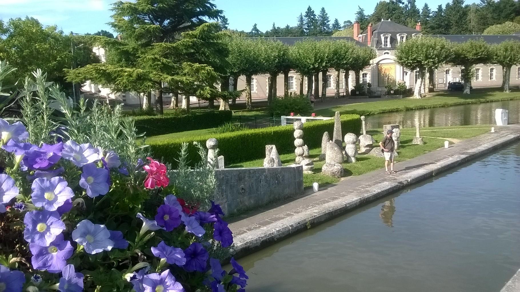 Briare - ville fleurie