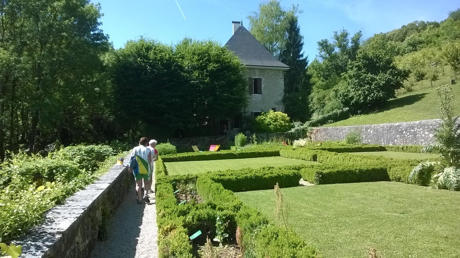 Le jardin des Charmettes