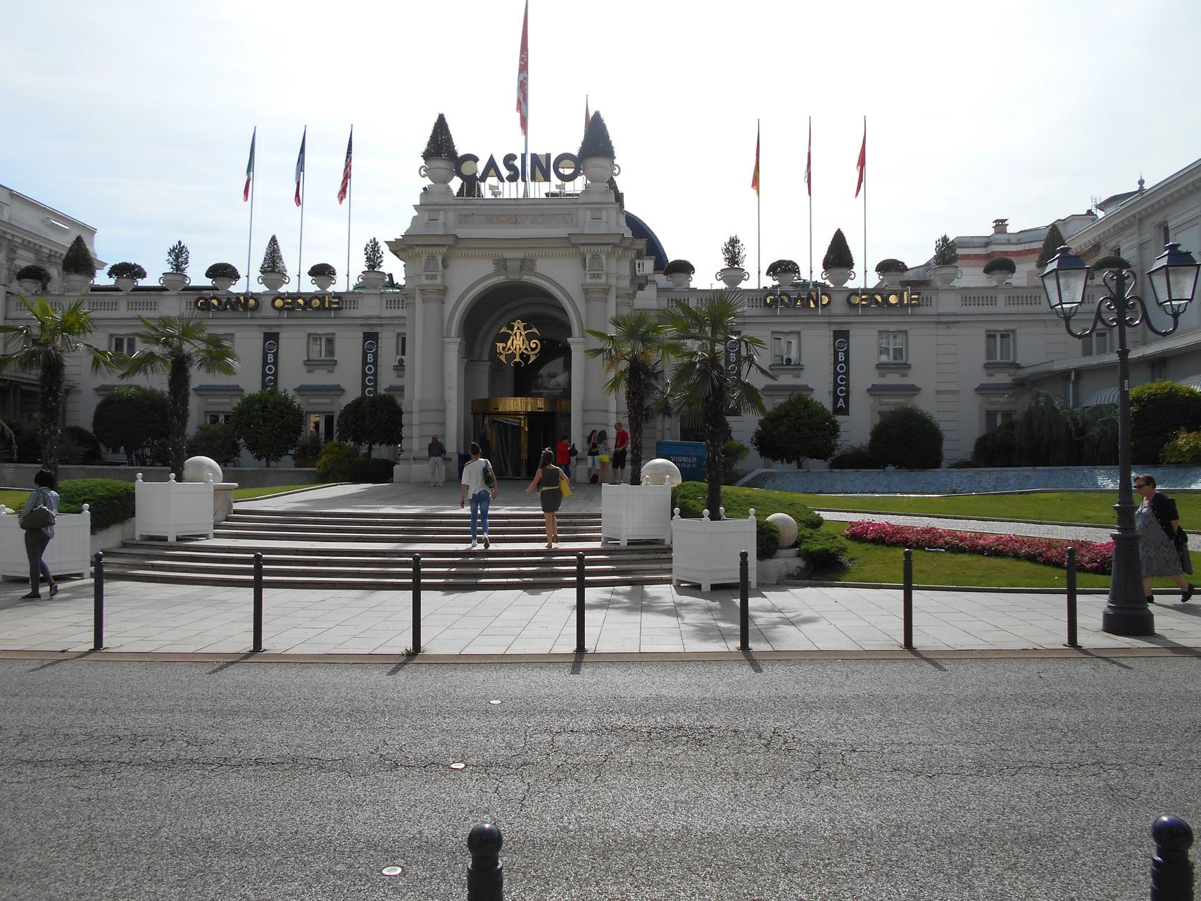 Le casino d'Aix les Bains