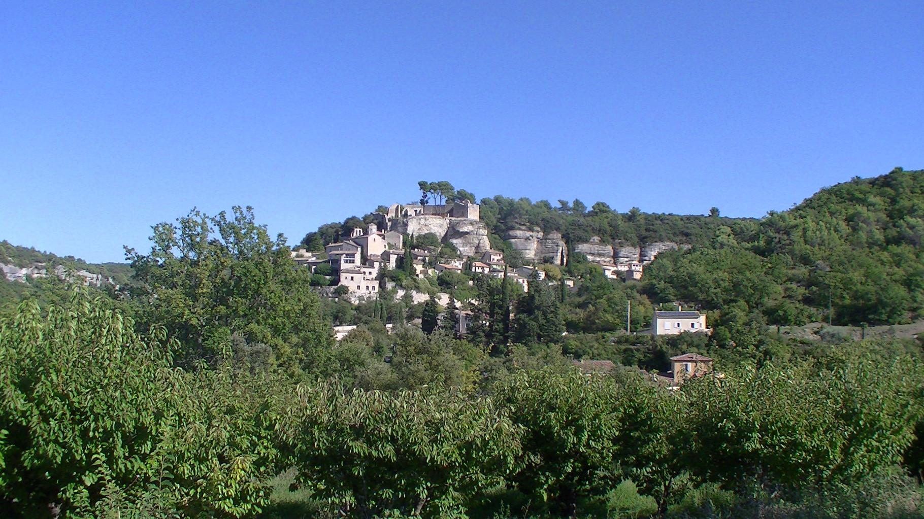 Le village du Beaucet