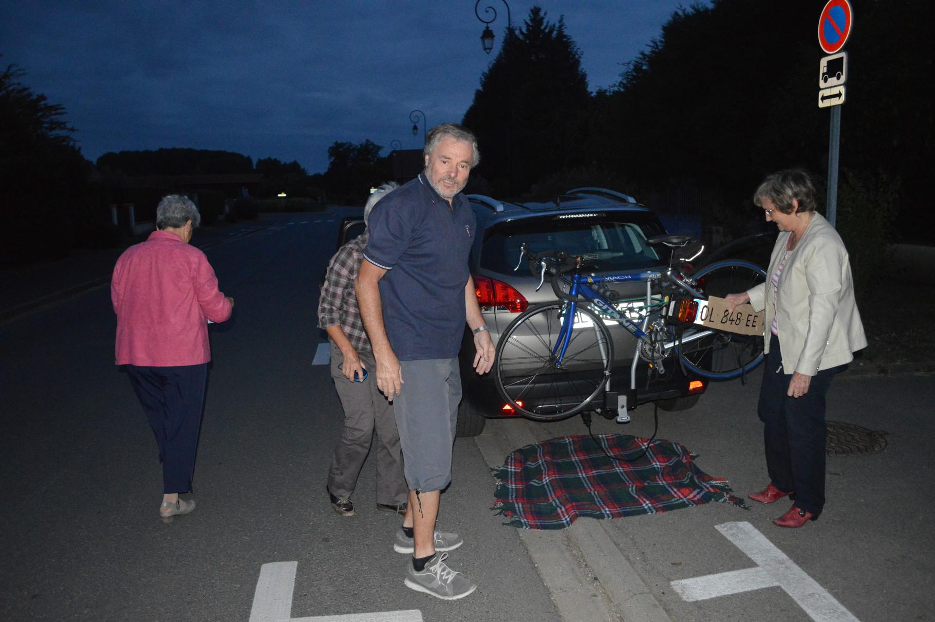 Derniers préparatifs avant le départ pour Nantes