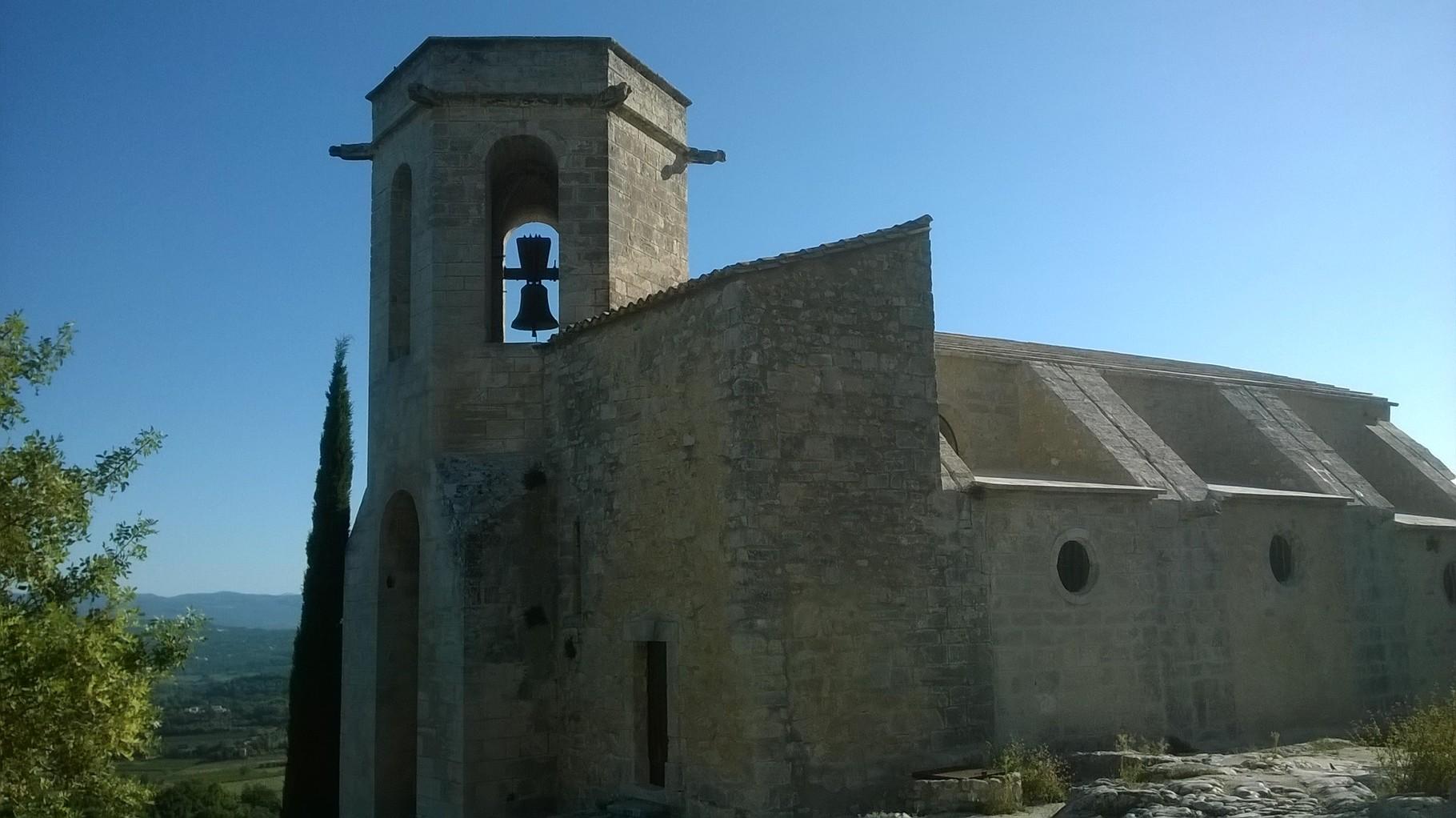 L'église d'Oppède le Vieux