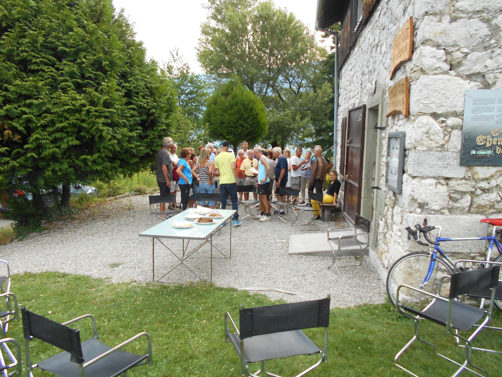 Les cyclos de Tresserve accueillent ceux de Bailleval
