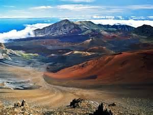 4) Haleakala, Krater auf Maui