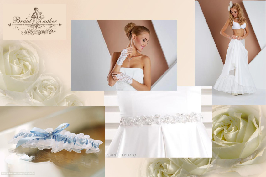 Modischer und schöner Braut-Zubehör - wir statten Sie mit allem Wichtigen aus.
