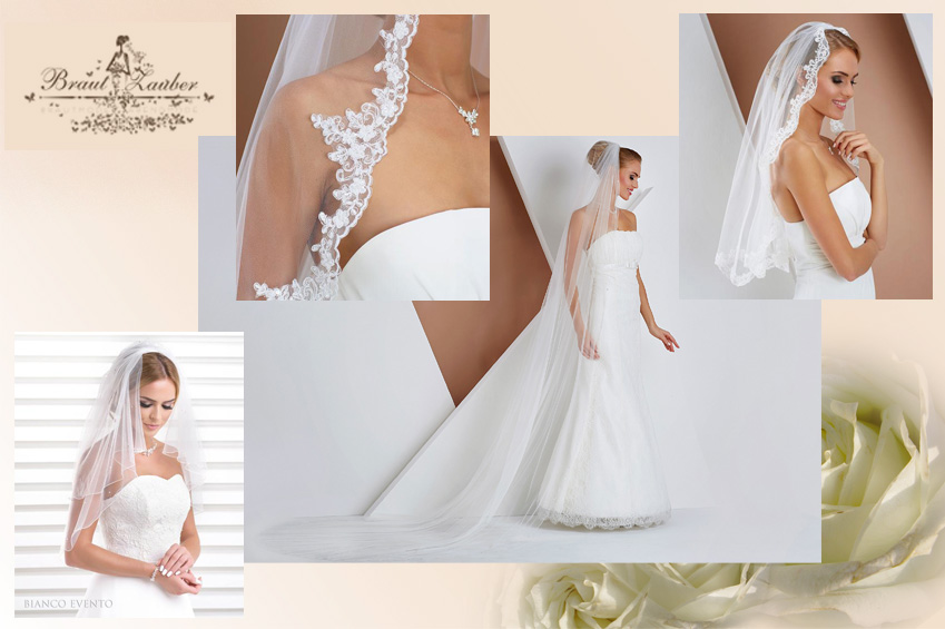 Das klassischste aller Braut-Accessoires: der Schleier - wir beraten Sie gern zur richtigen Wahl.