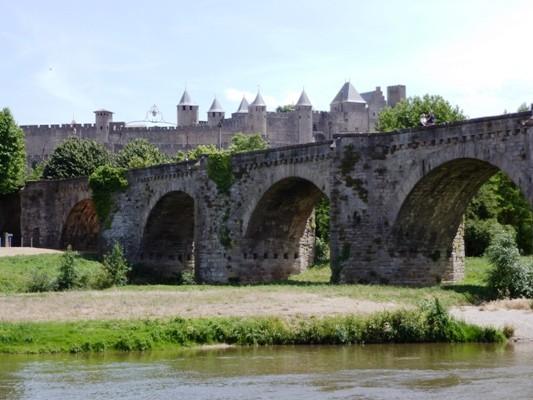 La cité de Carcassonne et le Pont Vieux