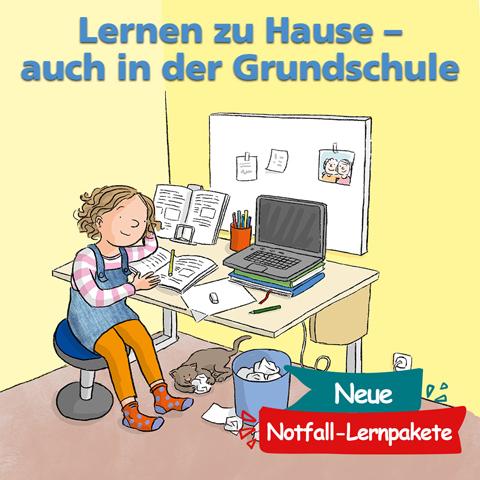 Homeschooling für die Grundschule - gratis Downloads vom Mildenberger Verlag