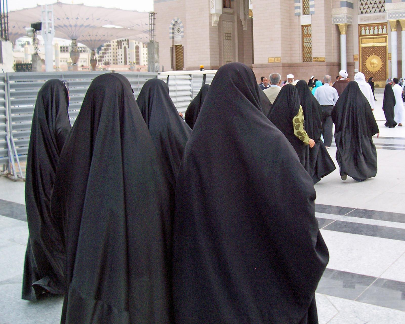 Iranische Pilgerinnen