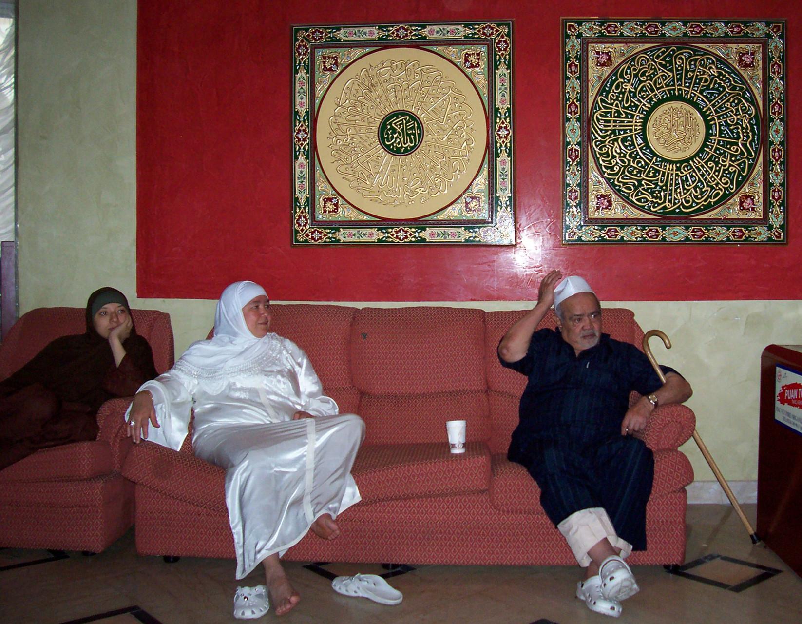 Rabia, Rabias Tochter Jamila und Opa Ali