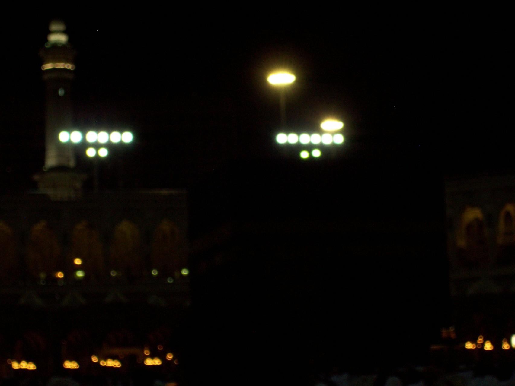 Kaaba vor Sonnenaufgang (man durfte sich beim Knipsen nicht erwischen lassen).