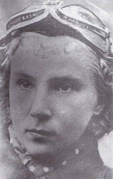"Lilya Litvak, Heldin der Sowjetunion, ""Flieger As"", abgeschossen  während der Schlacht am Kursker Bogen"