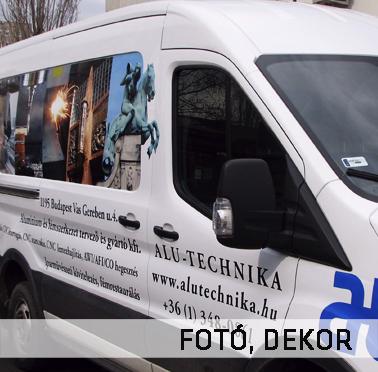 Alutechnika KFT. autódekoráció