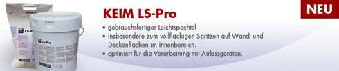 """KEIM LS Pro """"NEU"""" Logo"""