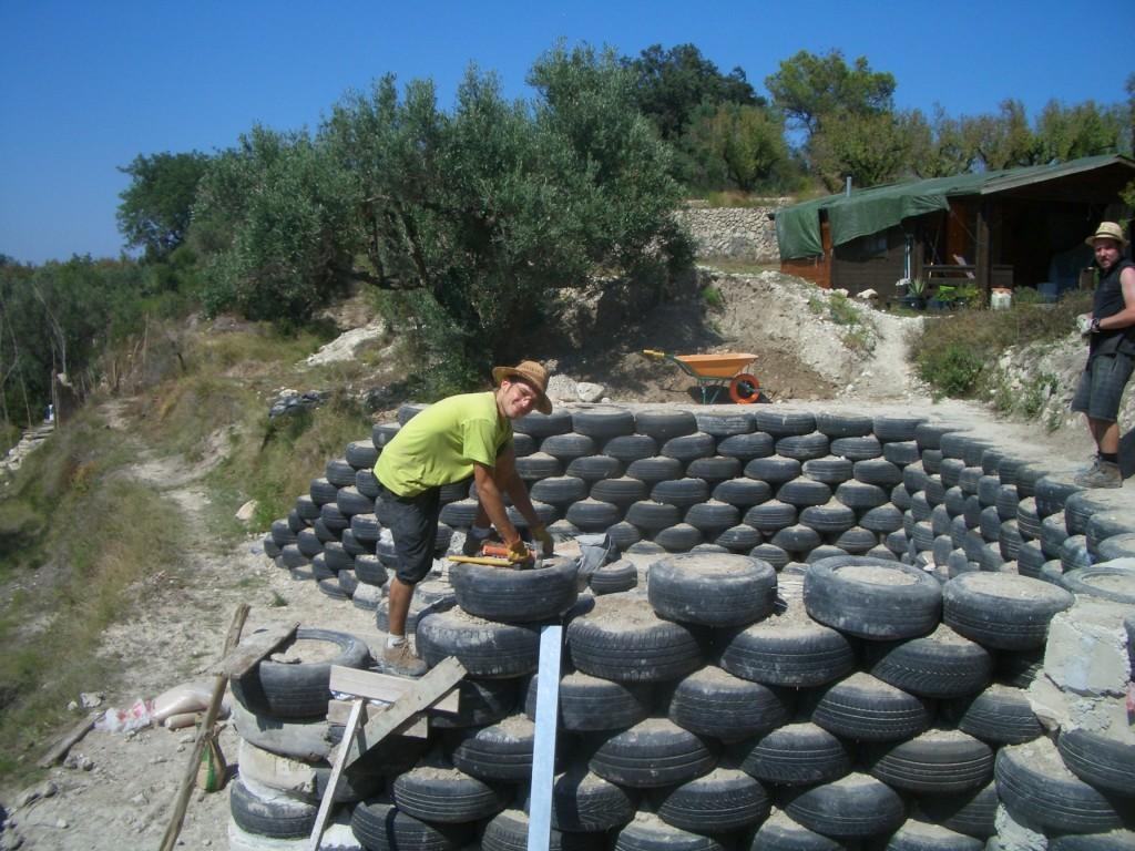 Voluntariado para taller construcción sostenible