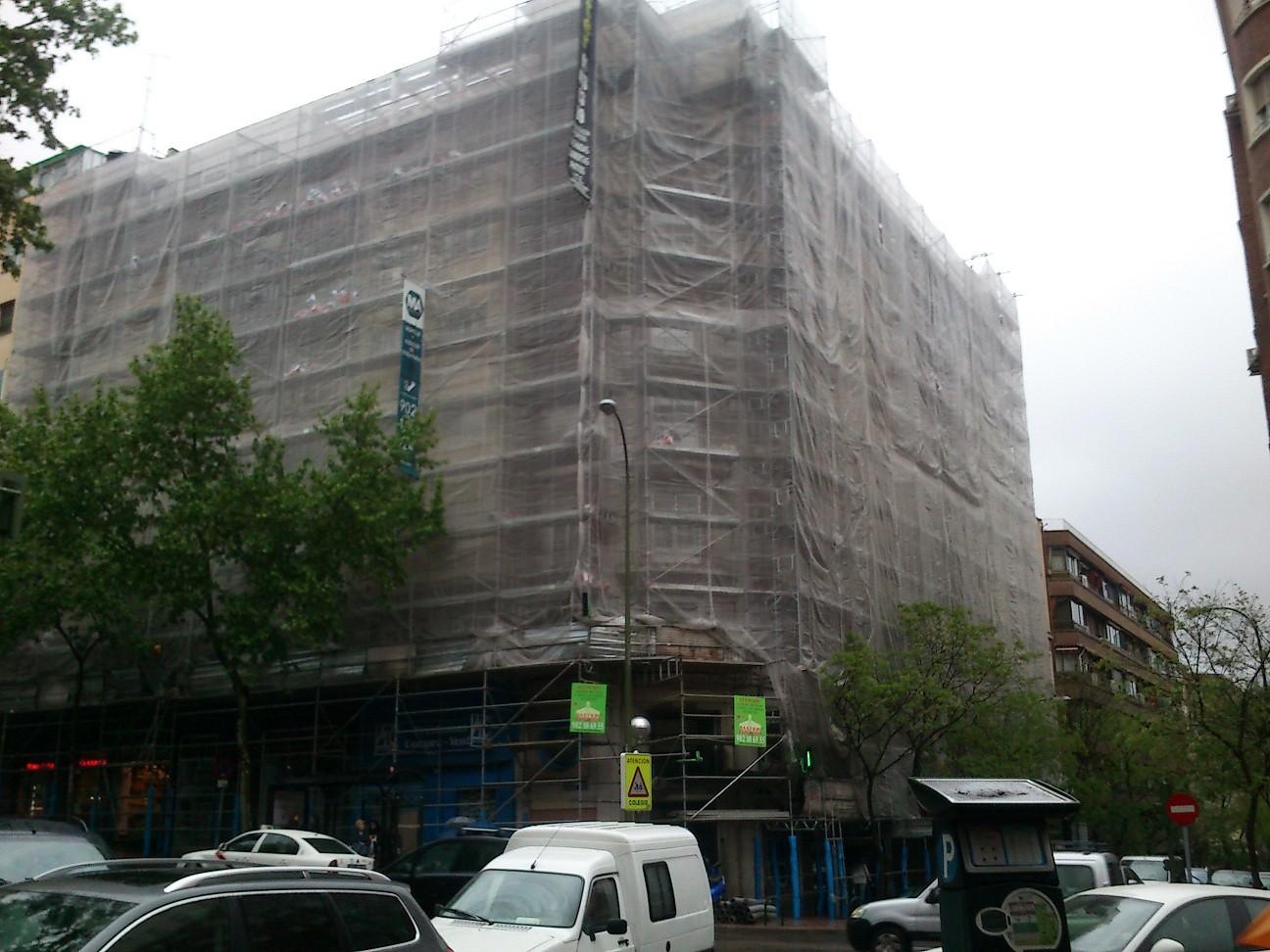 dirección facultativa de andamios en Madrid