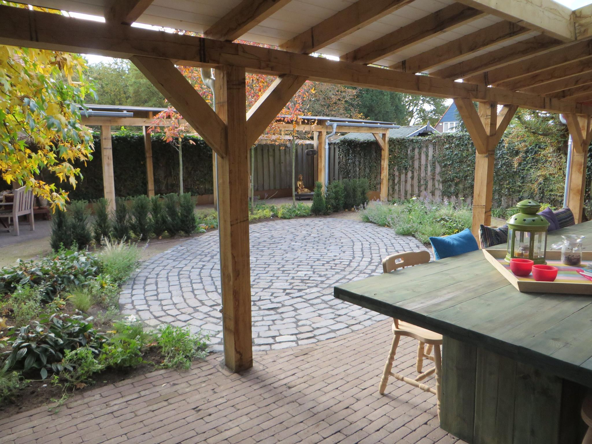 Inrichting Overkapping Tuin : Overkapping tuin landelijk: landelijke tuin een landelijke tuin