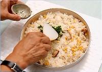 調理の写真