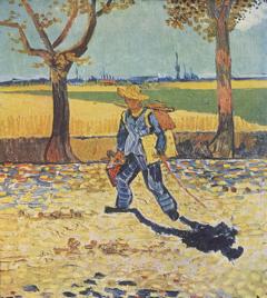 31-3-Van Gogh Le peintre allant au travail 1888