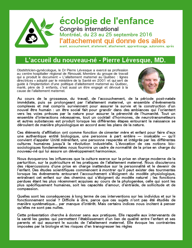 Dr. Pierre Lévesque