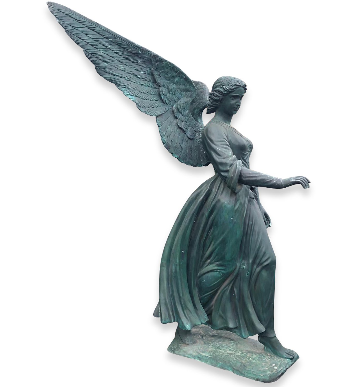 Bronzefigur ANGEL OF THE WATERS