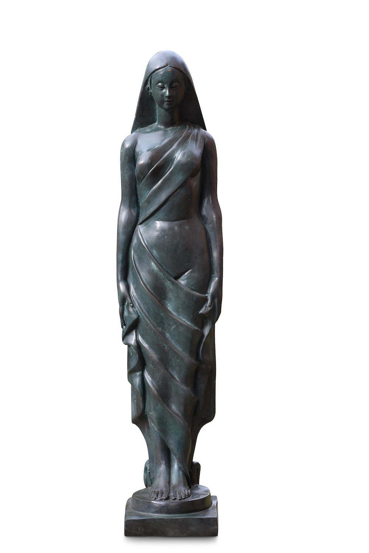 Bronzefigur YANARA, 64 cm hoch
