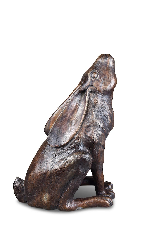 Bronzefigur Hase AURELIUS, 42 cm