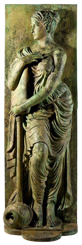 Bronzewasserspeier NYMPHE des Fontaine des Innocents-2