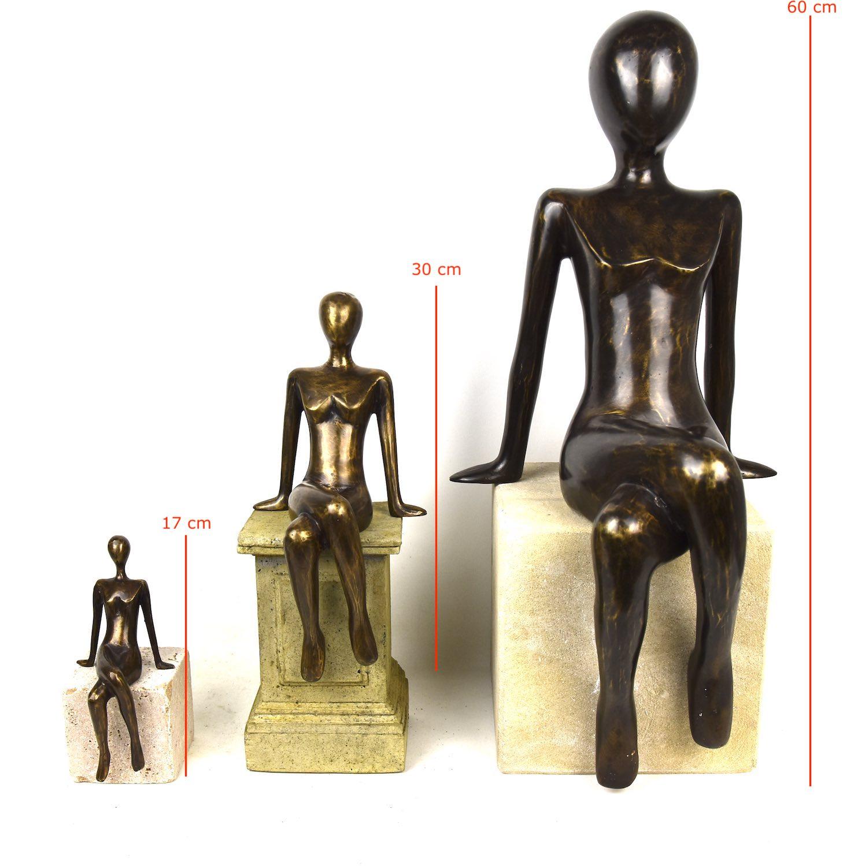 ELISA 17, 30, 60 cm, Bronzefigur