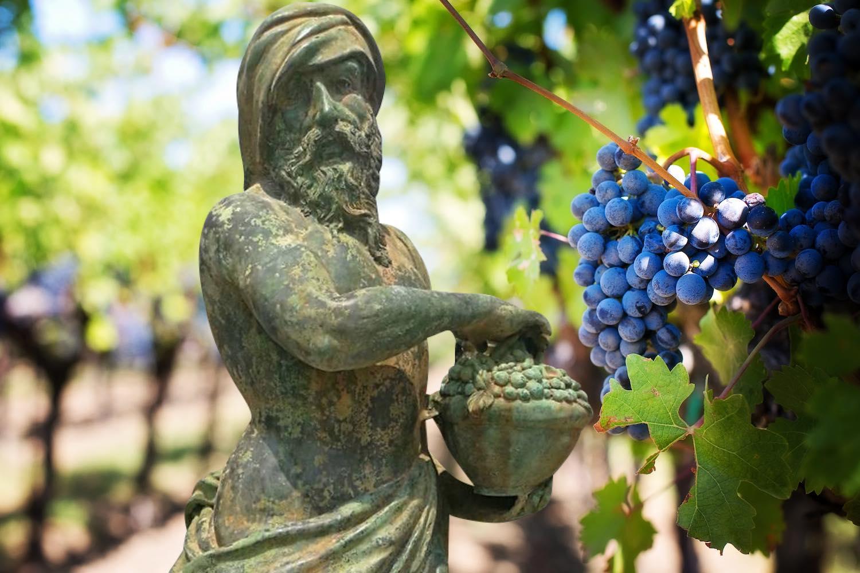 ADELPHOS, 4 Jahreszeiten Herbst, Bronzefigur