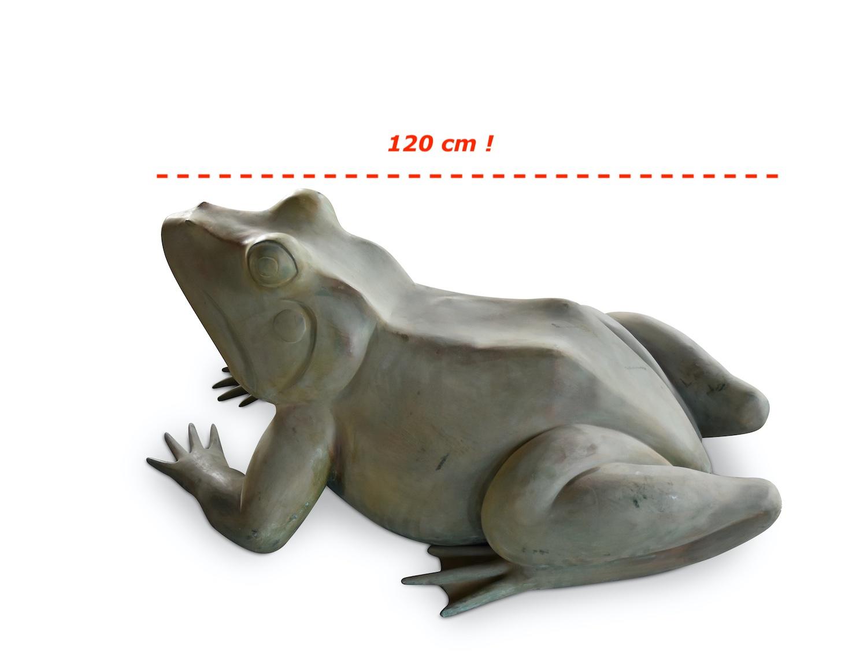 Bronzewasserspeier Frosch MAGNUM