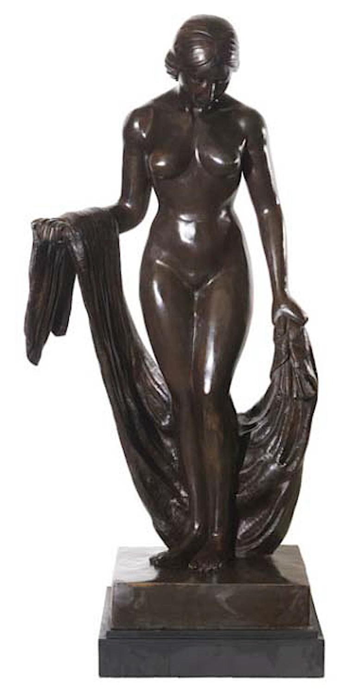 Bronzefigur THALASSA, 133 cm