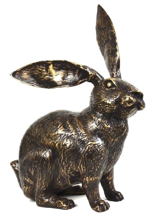Bronzefigur HASE LAMPRECHT