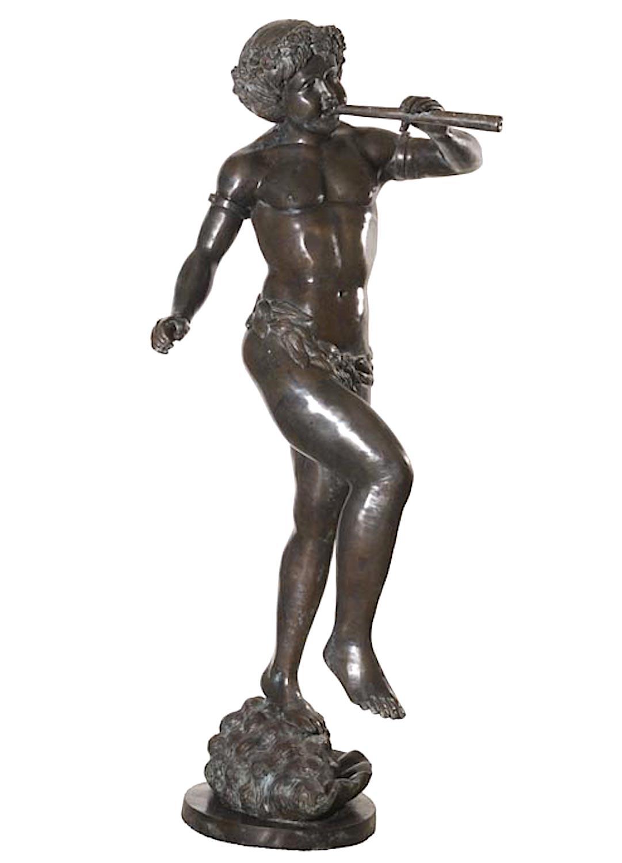 Bronzewasserspeier TIBERINUS