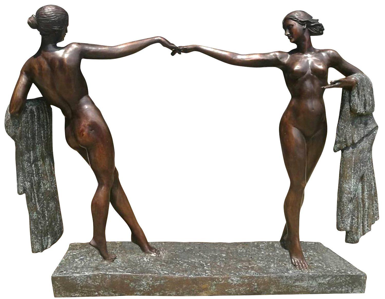 Bronzefigur PLAISIR