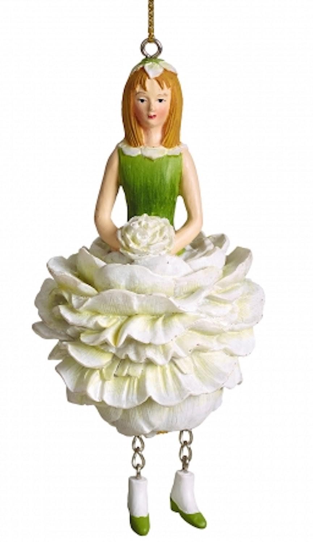 Blumenmädchen Pfingstrose weiß