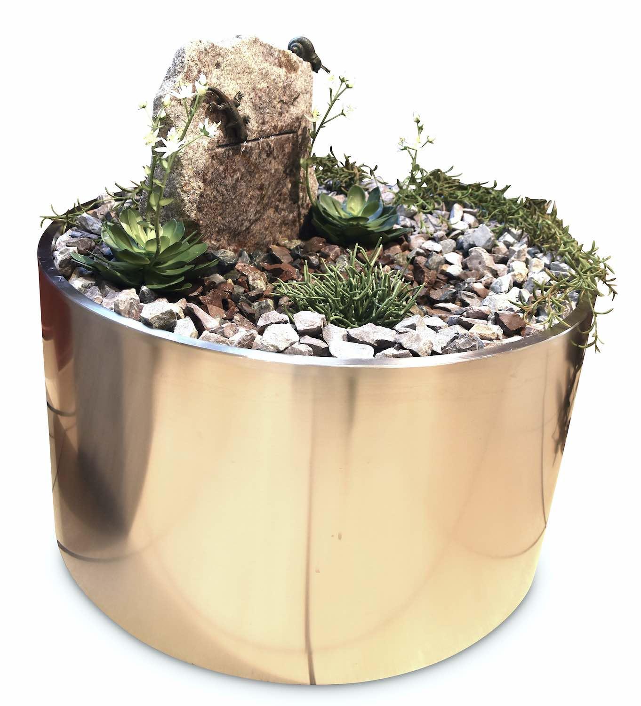 Wasserwelt - für innen EIDECHSE, aus Bronze, Stein, Edelstahl