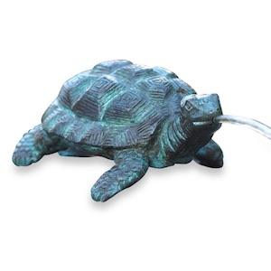 Bronzewasserspeier Schildkröte SHELLY, 17 cm