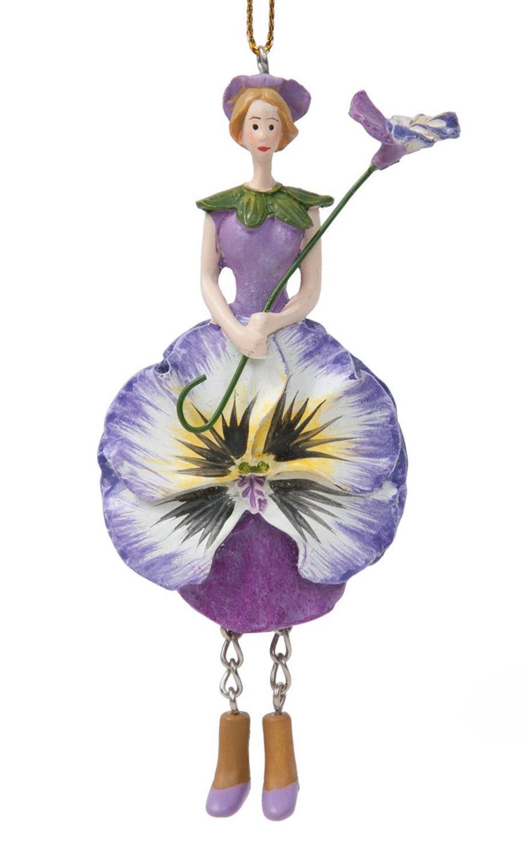 Blumenmädchen Stiefmütterchen