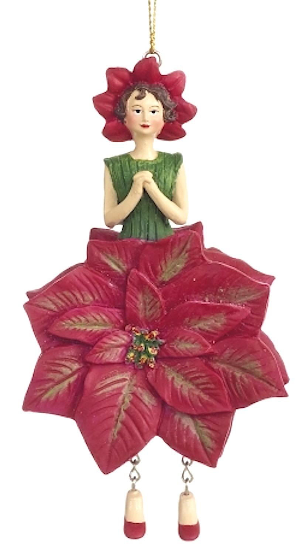 Blumenmädchen Poinsettia - Weihnachtsstern