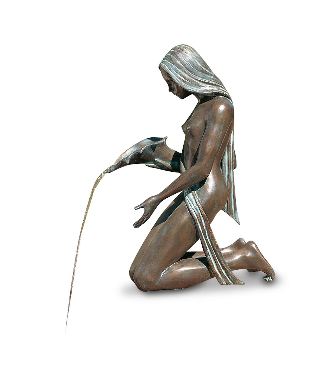 Bronzewasserspeier GWENDA