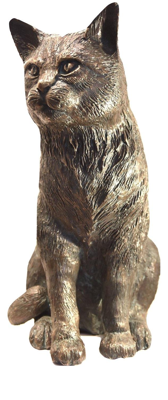 Bronzefigur Katze/Kater PAUL-GUSTAV